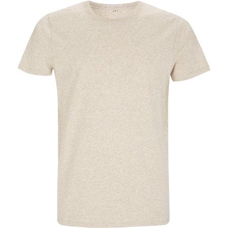 Mens/Unisex Organic T-Shirt in Melange Brown von EarthPositive (Artnum: EP100