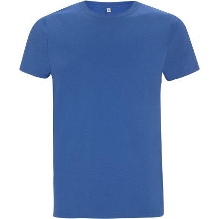 Mens/Unisex Organic T-Shirt in Royal Blue von EarthPositive (Artnum: EP100