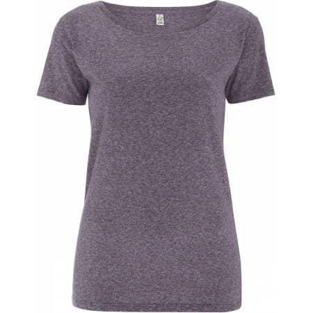 Women`s Special Yarn Effect T-Shirt von EarthPositive (Artnum: EP14