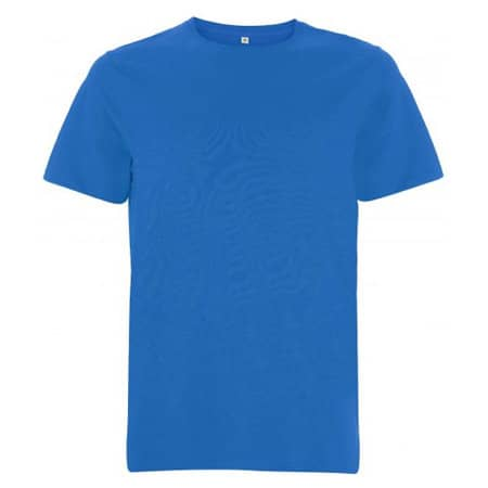 Unisex Organic Heavy T-Shirt in bright blue von EarthPositive (Artnum: EP18