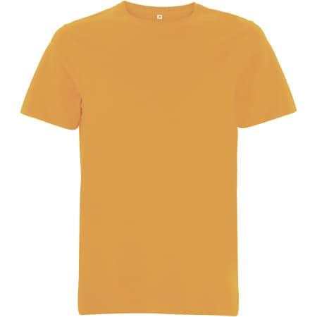 Unisex Organic Heavy T-Shirt in Mango von EarthPositive (Artnum: EP18