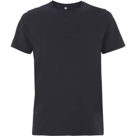 Unisex Organic Heavy T-Shirt in Navy von EarthPositive (Artnum: EP18