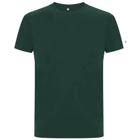 Unisex Organic Heavy T-Shirt in Bottle Green von EarthPositive (Artnum: EP18