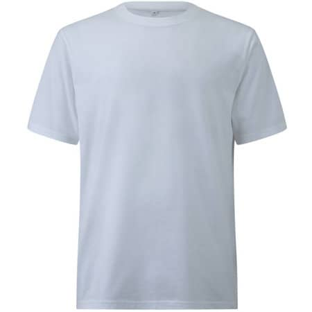 Unisex Organic Heavy Oversized T-Shirt in  White von EarthPositive (Artnum: EP19