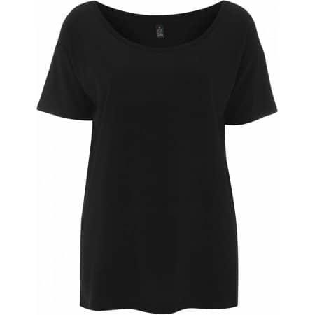 Women`s Tencel Blend Oversized T-Shirt von EarthPositive (Artnum: EP46