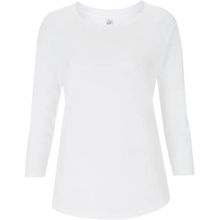 Women`s Organic 3/4 Sleeve T-Shirt von EarthPositive (Artnum: EP47