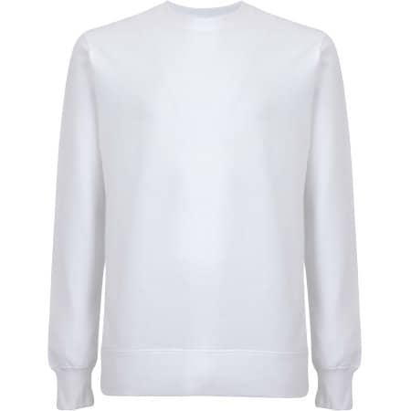 Unisex EP Organic Sweatshirt in  White von EarthPositive (Artnum: EP62