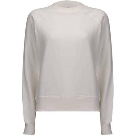 Womens Raglan Sweatshirt in White Mist von EarthPositive (Artnum: EP63