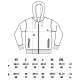 Thumbnail Sweatjacken: Mens/Unisex Organic Zip Up Hoody EP68Z von EarthPositive