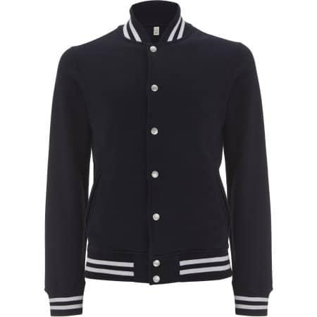 Men`s Varsity Jacket von EarthPositive (Artnum: EP69