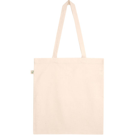 Organic Heavy Tote Bag in Natural von EarthPositive (Artnum: EP71