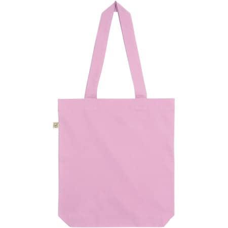 Fashion Tote Bag Baumwolltasche aus Biobaumwolle in Candy Pink von EarthPositive (Artnum: EP75