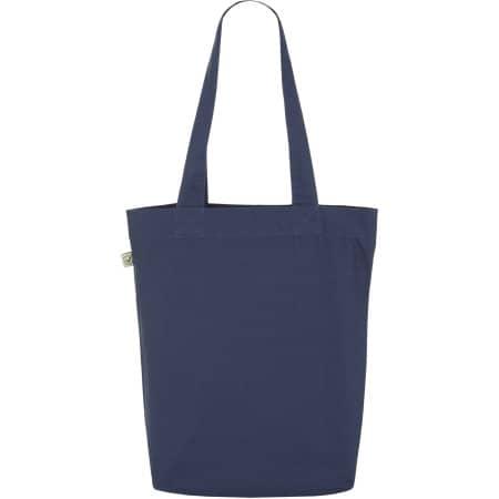 Fashion Tote Bag Baumwolltasche aus Biobaumwolle in Light Denim von EarthPositive (Artnum: EP75