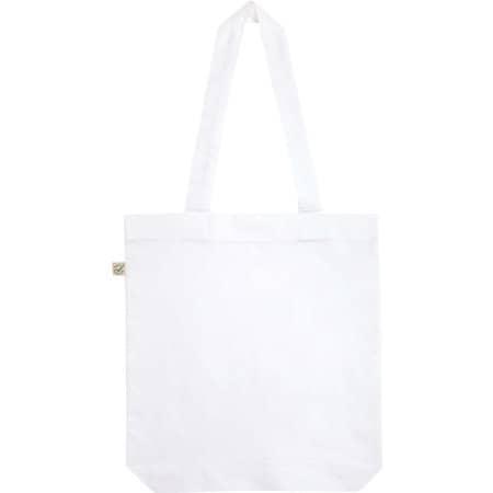 Fashion Tote Bag Baumwolltasche aus Biobaumwolle in  White von EarthPositive (Artnum: EP75