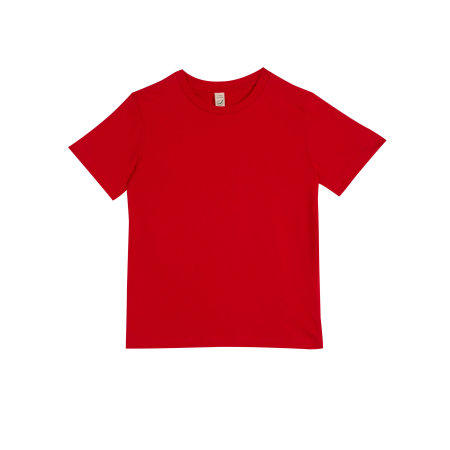 Earthpositive® Junior Classic Organic T-Shirt in Red von EarthPositive (Artnum: EPJ01