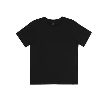 Earthpositive® Junior Classic Organic T-Shirt in  Black von EarthPositive (Artnum: EPJ01