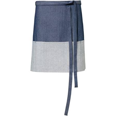 Jeans-Vorbinder 2-farbig 80 x 45 cm von Exner (Artnum: EX134