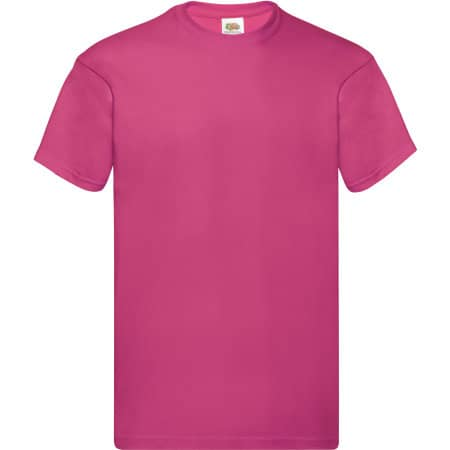 Original T in Fuchsia von Fruit of the Loom (Artnum: F110