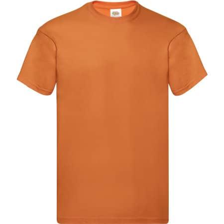 Original T in Orange von Fruit of the Loom (Artnum: F110