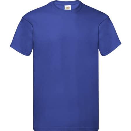 Original T in Royal Blue von Fruit of the Loom (Artnum: F110