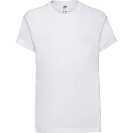 Kids Original T in White von Fruit of the Loom (Artnum: F110K