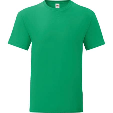 Iconic T in Kelly Green von Fruit of the Loom (Artnum: F130