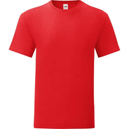 Iconic T in Red von Fruit of the Loom (Artnum: F130