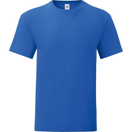 Iconic T in Royal Blue von Fruit of the Loom (Artnum: F130