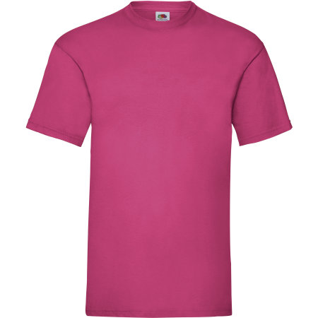 Valueweight T in Fuchsia von Fruit of the Loom (Artnum: F140