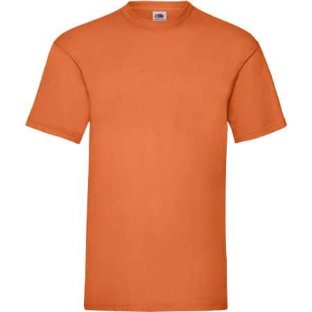 Valueweight T in Orange von Fruit of the Loom (Artnum: F140