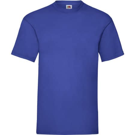 Valueweight T in Royal Blue von Fruit of the Loom (Artnum: F140