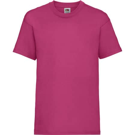 Valueweight T Kids in Fuchsia von Fruit of the Loom (Artnum: F140K