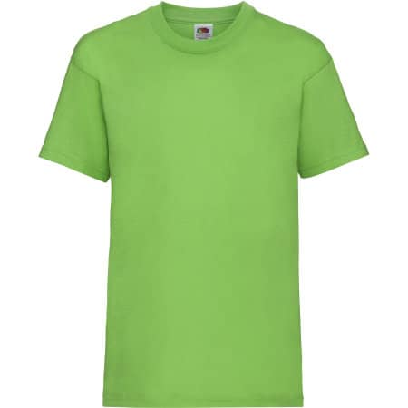 Valueweight T Kids in Lime von Fruit of the Loom (Artnum: F140K