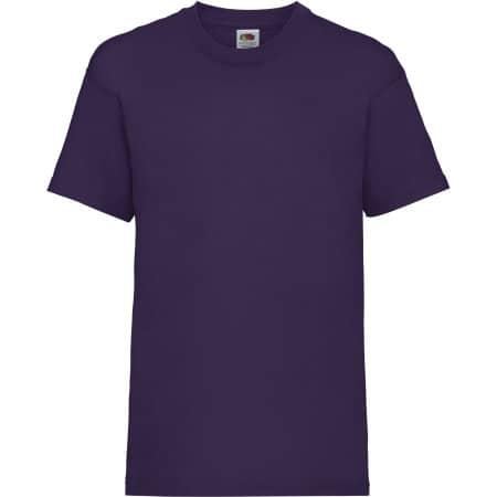 Valueweight T Kids in Purple von Fruit of the Loom (Artnum: F140K
