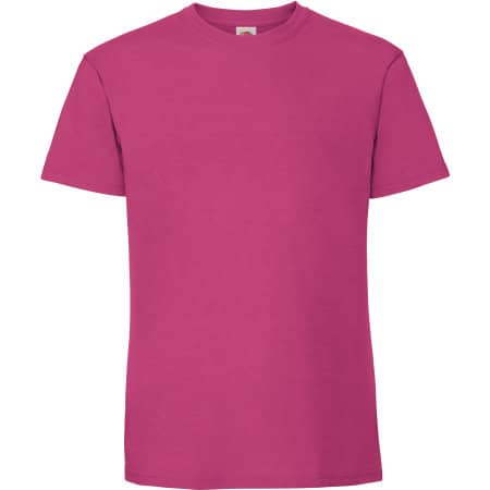 Ringspun Premium T in Fuchsia von Fruit of the Loom (Artnum: F185