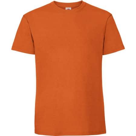 Ringspun Premium T in Orange von Fruit of the Loom (Artnum: F185