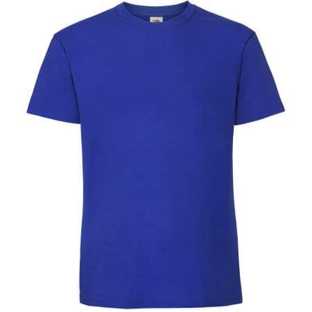 Ringspun Premium T in Royal Blue von Fruit of the Loom (Artnum: F185