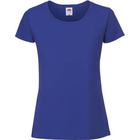 Ladies Ringspun Premium T in Royal Blue von Fruit of the Loom (Artnum: F186
