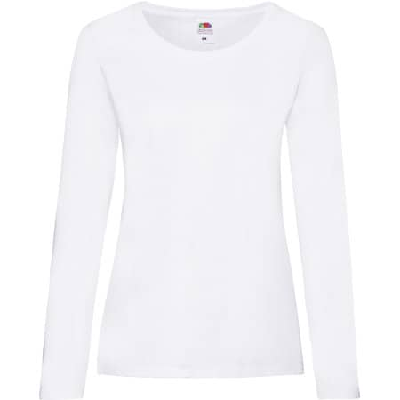 Valueweight Long Sleeve T Lady-Fit von Fruit of the Loom (Artnum: F242N