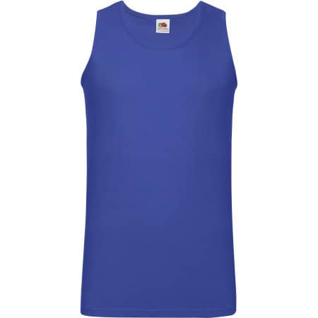 Athletic Vest in Royal Blue von Fruit of the Loom (Artnum: F260