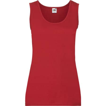 Valueweight Vest Lady-Fit in Red von Fruit of the Loom (Artnum: F262