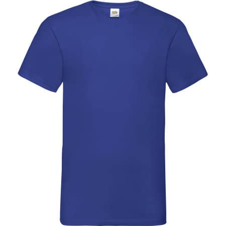 Valueweight V-Neck T in Royal Blue von Fruit of the Loom (Artnum: F270