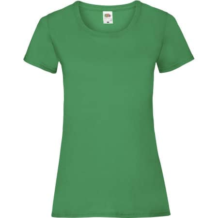Valueweight T Lady-Fit in Kelly Green von Fruit of the Loom (Artnum: F288N