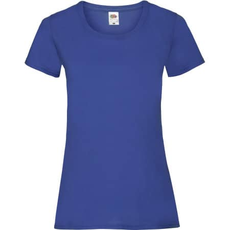 Valueweight T Lady-Fit in Royal Blue von Fruit of the Loom (Artnum: F288N