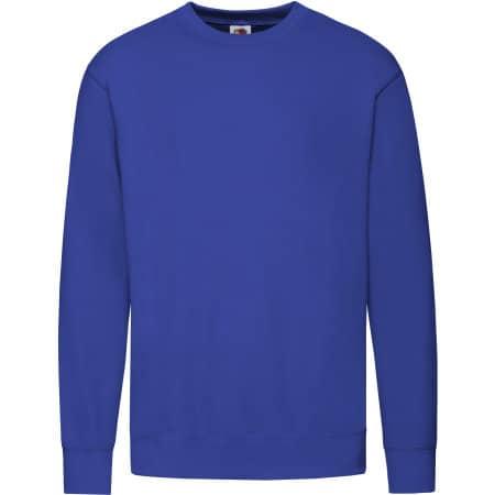 New Lightweight Set-In Sweat in Royal Blue von Fruit of the Loom (Artnum: F330