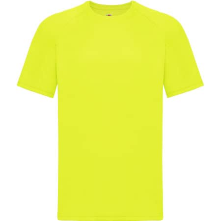 Performance T in Bright Yellow von Fruit of the Loom (Artnum: F350