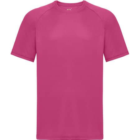 Performance T in Fuchsia von Fruit of the Loom (Artnum: F350