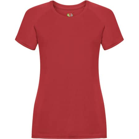 Performance T Lady-Fit in Red von Fruit of the Loom (Artnum: F355