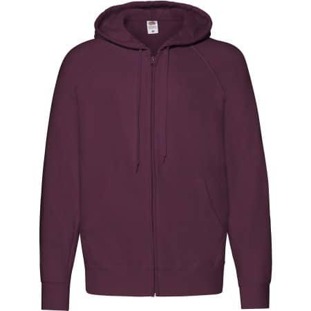 Lightweight Hooded Sweat Jacket von Fruit of the Loom (Artnum: F407