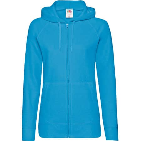 Lightweight Hooded Sweat Jacket Lady-Fit von Fruit of the Loom (Artnum: F408